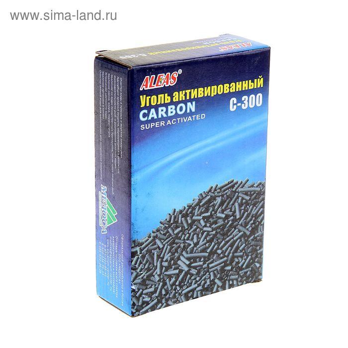 Наполнитель для фильтра Aleas активированный уголь, 300 гр