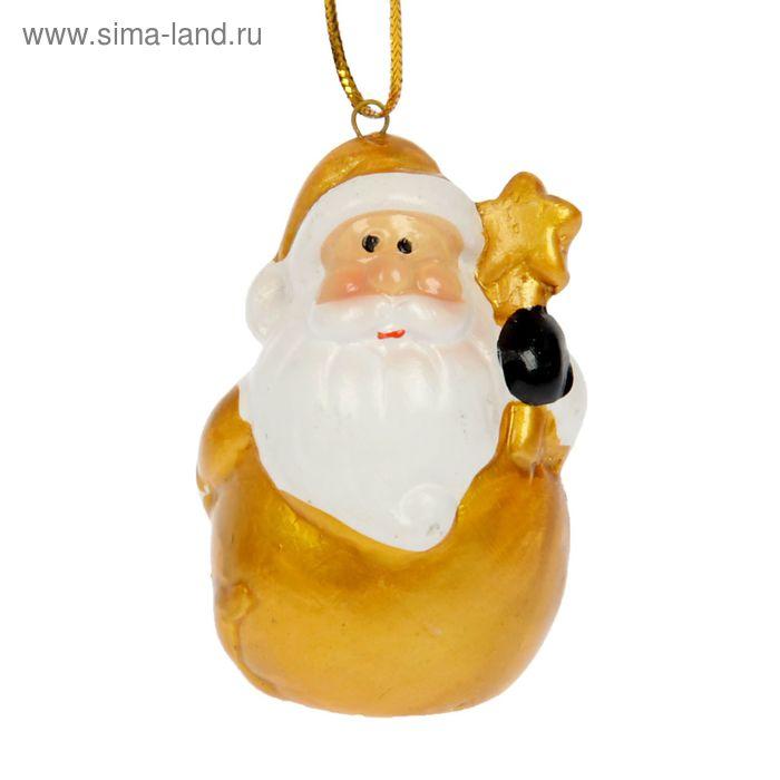 "Сувенир-подвеска ""Дед Мороз со звёздочкой"""