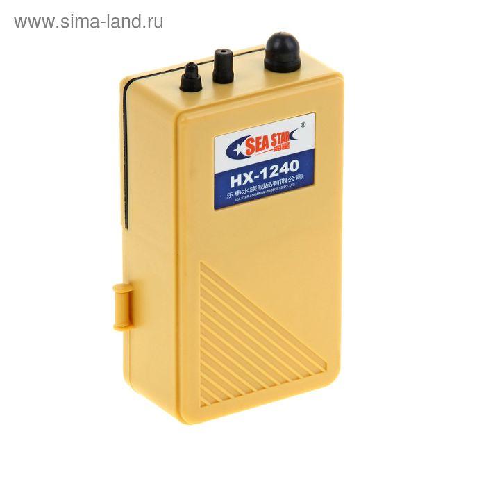 Компрессор Sea Star автономный на батарейках 2 л/мин, HX1240
