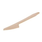 Нож одноразовый деревянный 16,5 см