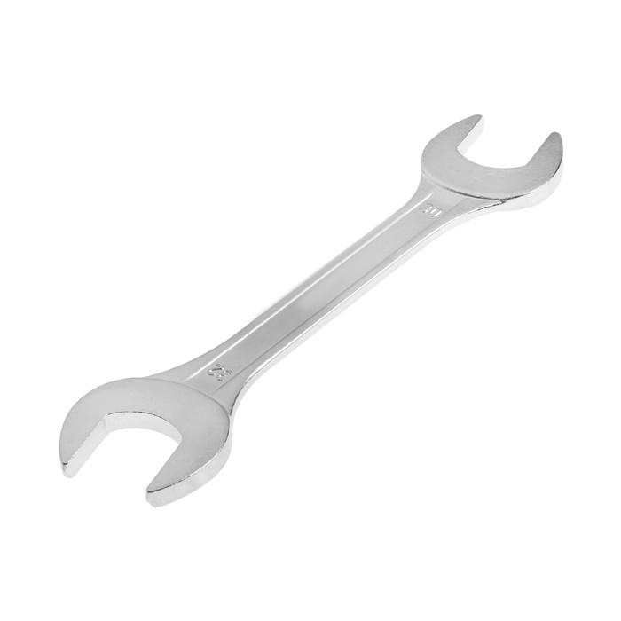 Ключ гаечный, рожковый TUNDRA basic, хромированный, 30х32 мм