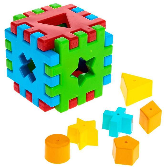 """Игрушка развиващая """"Волшебный куб"""", 12 элементов"""