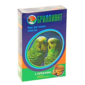 Корм для попугаев 'Бриллиант люкс new' с орехами, 500 гр Ош
