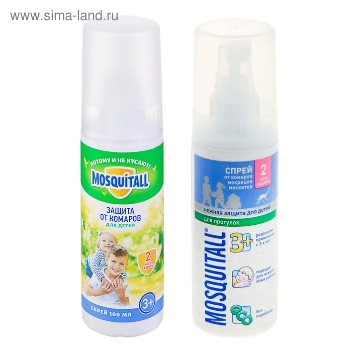 Спрей Mosquitall Нежная защита для детей 100 мл