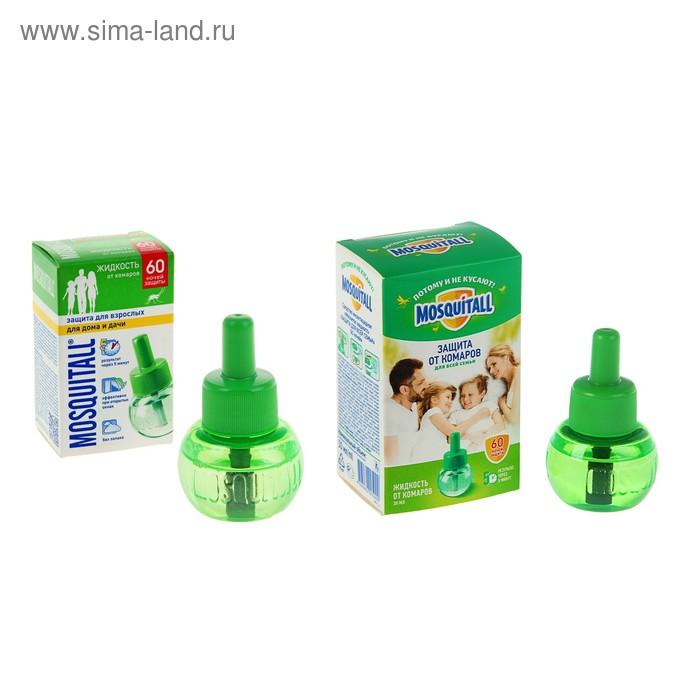 Жидкость Mosquitall Защита для взрослых 60 ночей, 30 мл