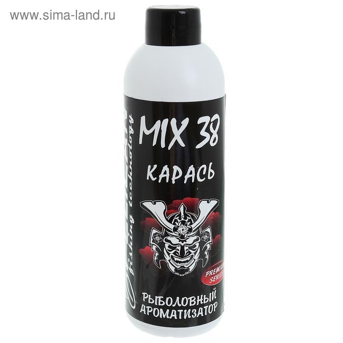 """Ароматизатор для прикормки Pelican Mix 38 """"Карась"""" (1 фл. - 200 мл.)"""