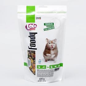 Корм для хомяков LoLo Pets полнорационный, дойпак 600 гр