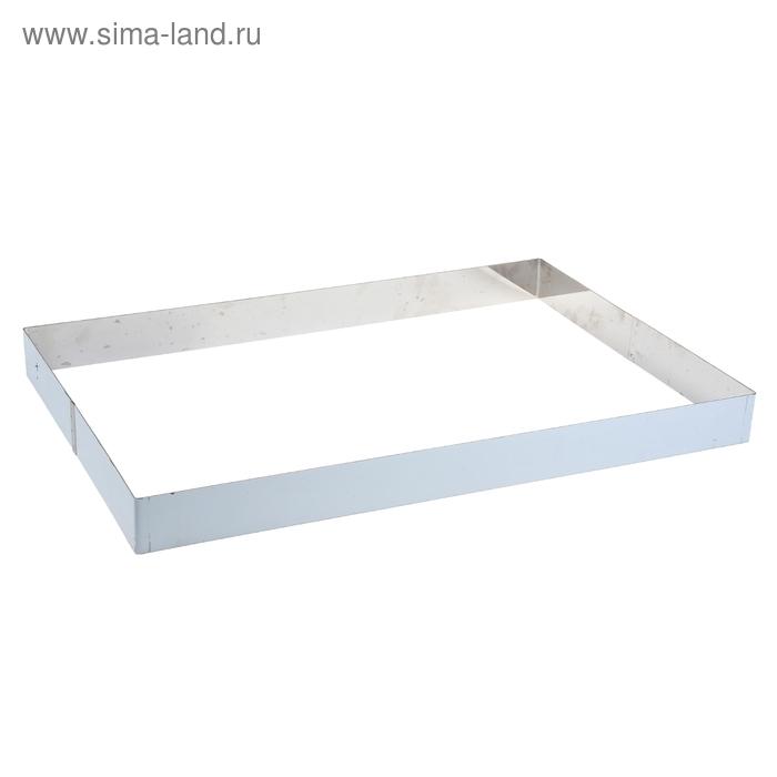 Рама кондитерская «Эталон» 40х60 см, h=5 см
