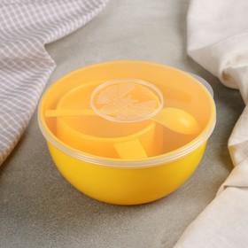 Дорожный набор посуды на 1 персону, цвет МИКС Ош