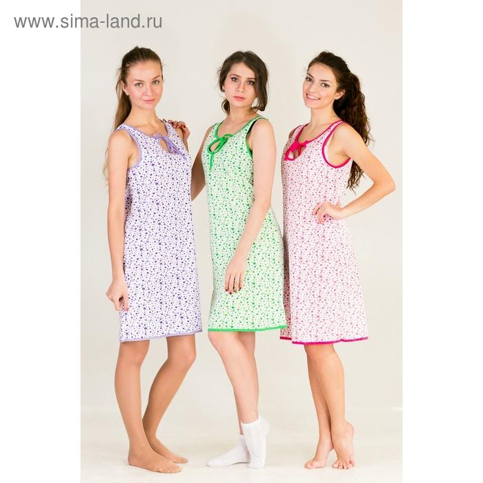 Сорочка женская Капля МИКС р-р 46