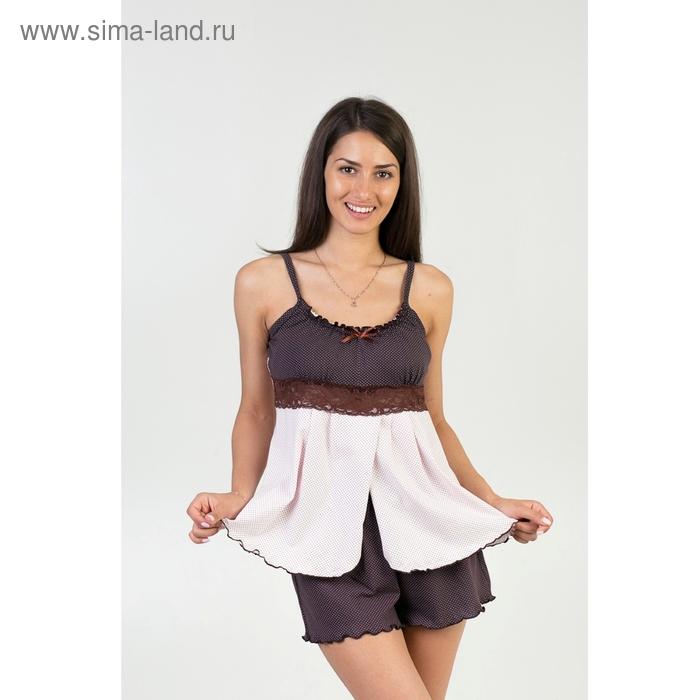 Пижама женская (топ, шорты) П-005 МИКС р-р 44