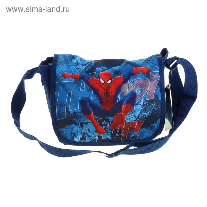 Сумочка детская для мальчика Disney Spiderman 18*25*10 см на лямке