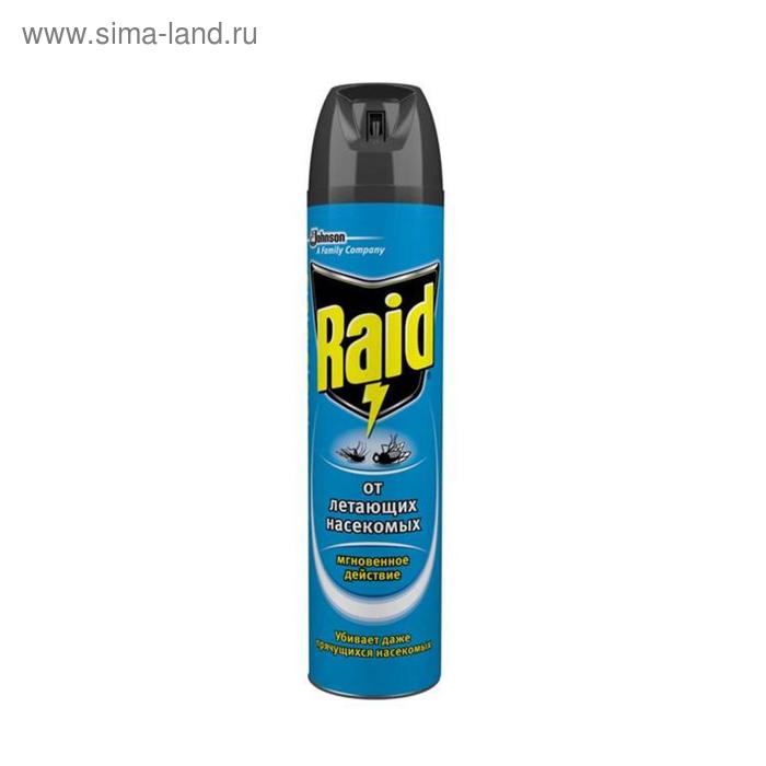 Аэрозоль Raid от летающих насекомых 300мл