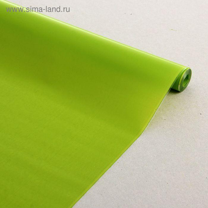 Пленка для цветов Лак матовый салатовый 700 мм х 8.5 м