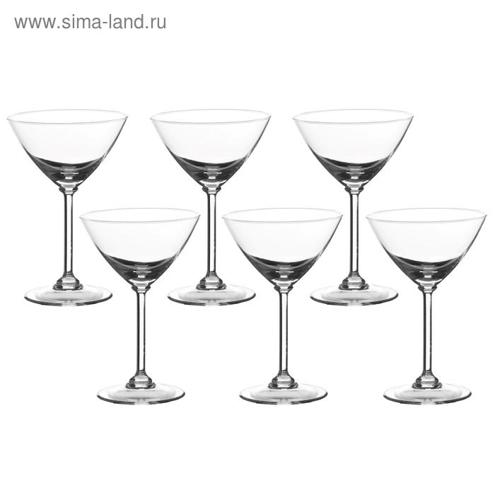 Набор бокалов для мартини 200 мл, 6 шт