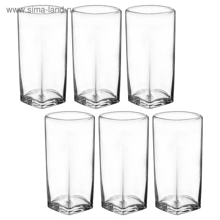 Набор стаканов для коктейля 300 мл, 6 шт