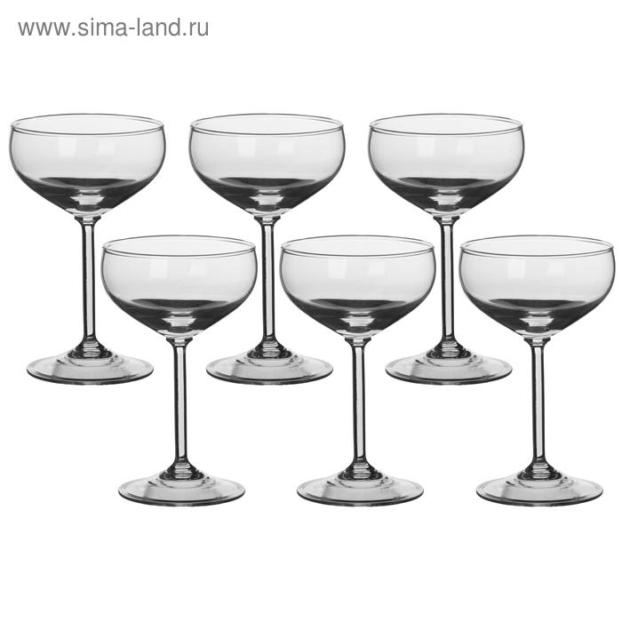 Набор бокалов для шампанского 200 мл, 6 шт