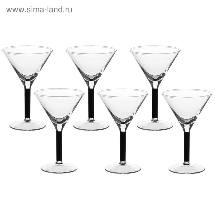 Набор бокалов для мартини 6 шт 140 мл