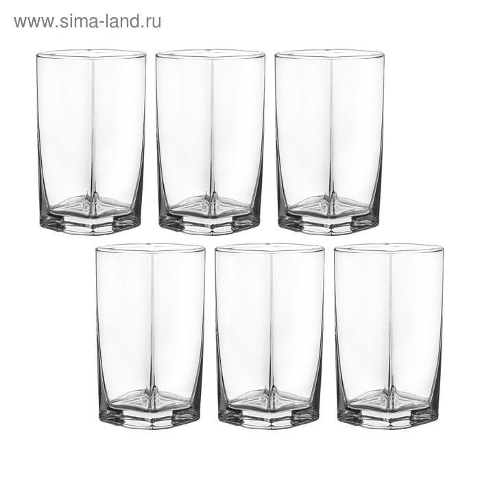 Набор стаканов для напитков 250 мл, 6 шт