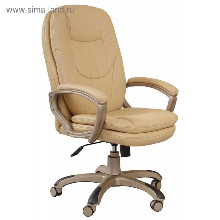 Кресло руководителя CH-868YAXSN, бежевый, искусственная кожа