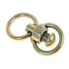 Вертлюг с кольцом, средний, общая длина 6,5 см, диаметр кольца 3,5 см, тольщина проволоки 0,4 см