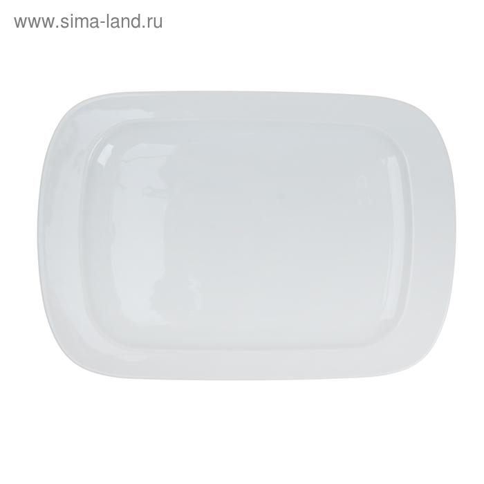 Тарелка прямоугольная, большая