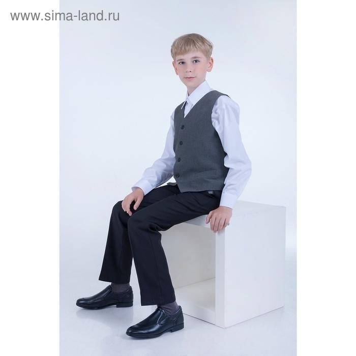 Сорочка для мальчика, рост 158-164 см (36), цвет белый 181Б-1