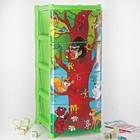 """Комод для игрушек """"Дерево знаний"""", 4 выдвижных ящика, цвет зелёный"""