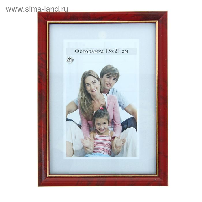 "Фоторамка 15х21 см ""Семейная"" под дерево"