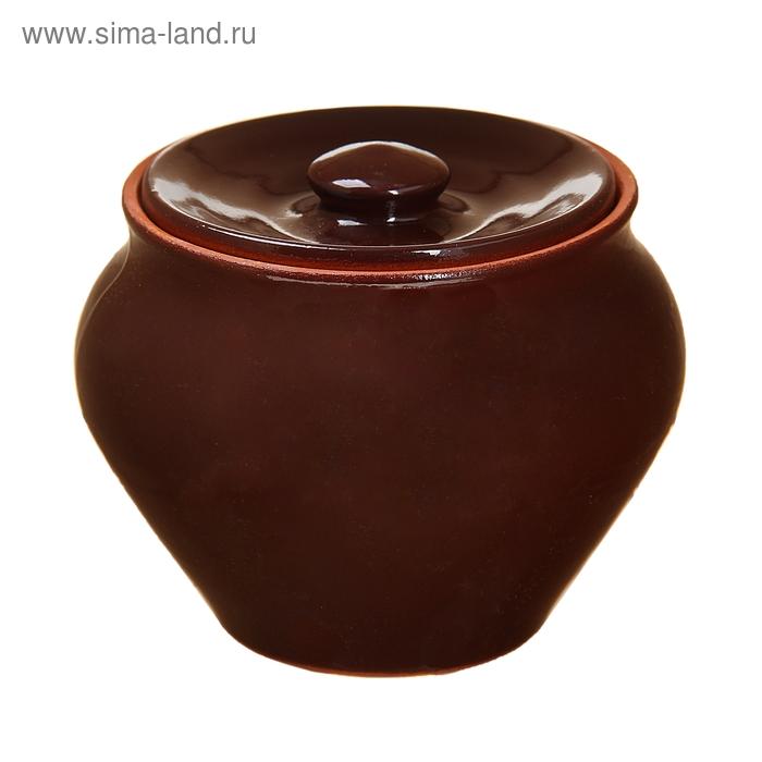 Горшочек для запекания шоколад 0,7 л
