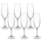 "Набор бокалов для шампанского 190 мл ""Оливия"", 6 шт"