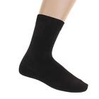 Носки мужские, размер 25, цвет черный С-13