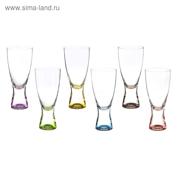 """Набор стаканов для шампанского 350 мл """"Самба"""", 6 шт"""