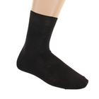 Носки мужские, размер 25, цвет черный М-29