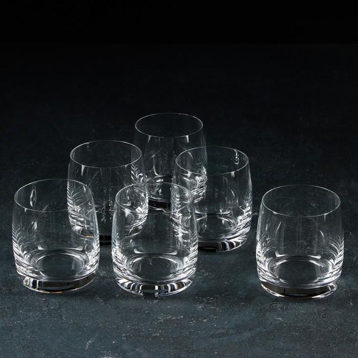 "Набор стаканов для виски 290 мл ""Идеал"", 6 шт"