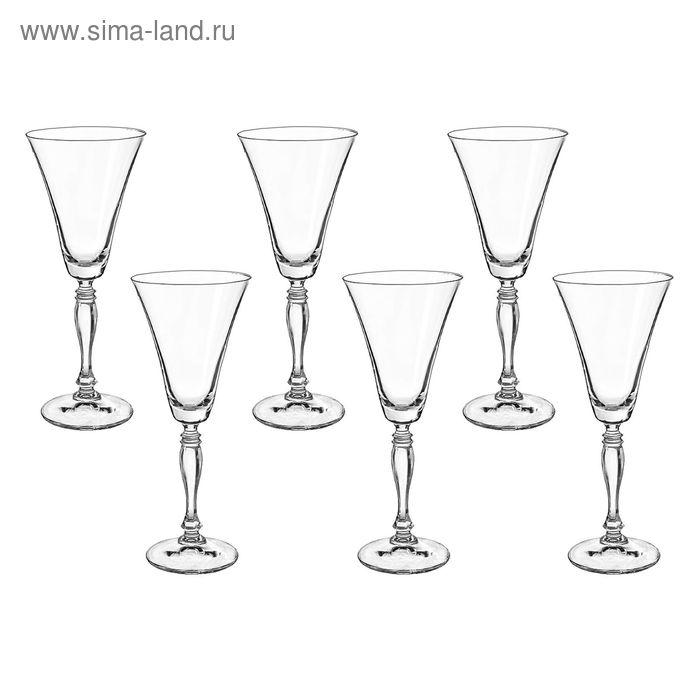 """Набор бокалов для вина 190 мл 6 шт """"Виктория"""""""