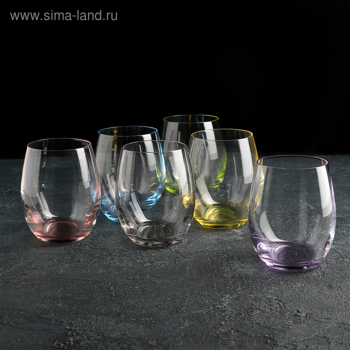 "Набор стаканов для виски 260 мл ""Клаб"", 6 шт"