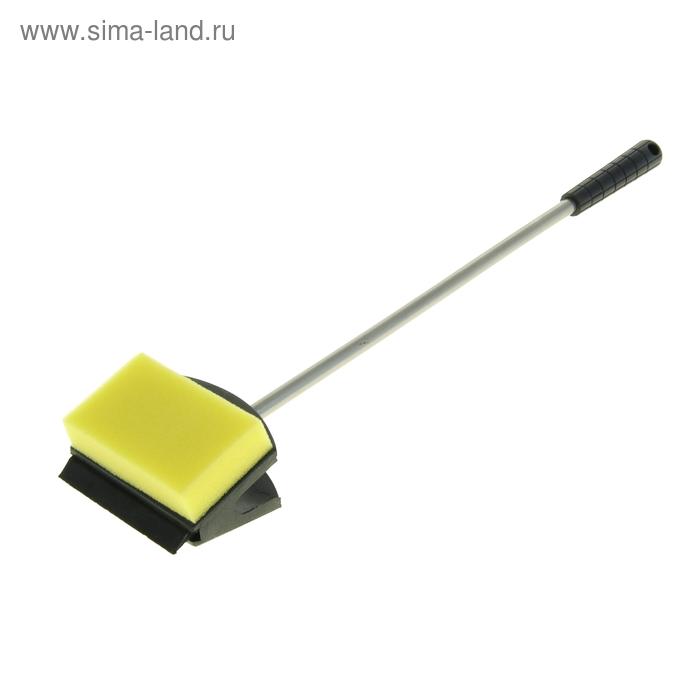 Скребок с нержавеющей ручкой 37 см AS-16