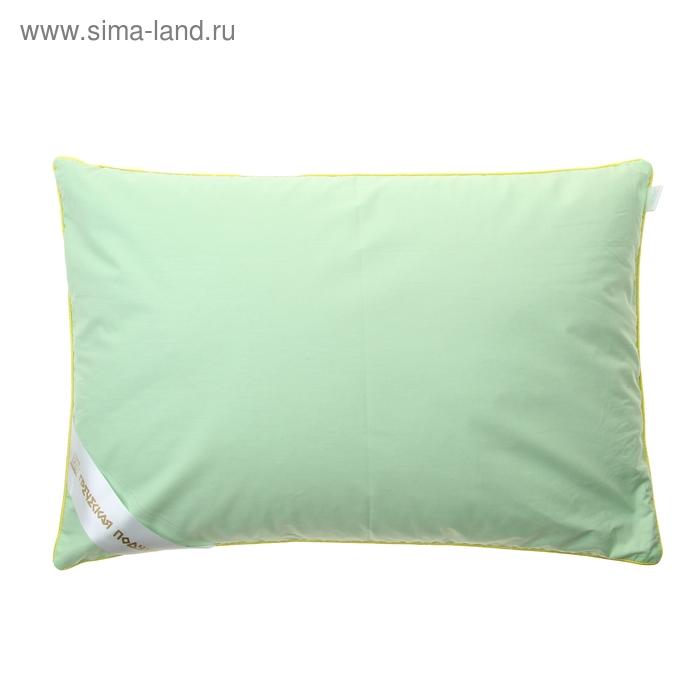 """Подушка """"Греческая"""" с хвоей, размер 40х60 см, лузга гречихи, тик, цвет микс"""