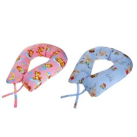 Подушка АДАМАС КОМФОРТ для беременных, размер 35х100х280 см, холлофайбер, чехол МИКС