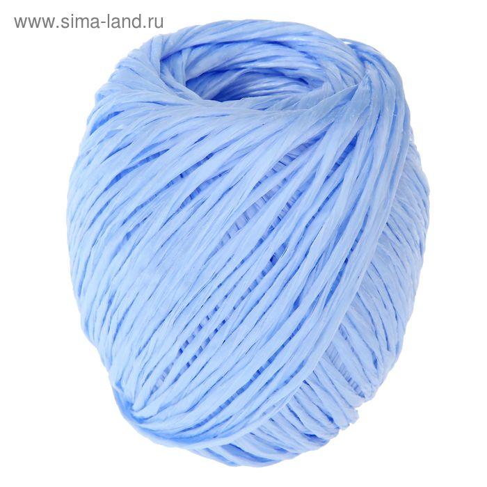 Шпагат полипропиленовый, 110 м, цвет синий