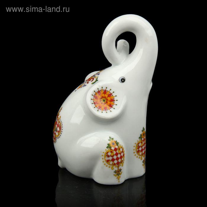 "Сувенир ""Слоненок-малыш"" с узорами"