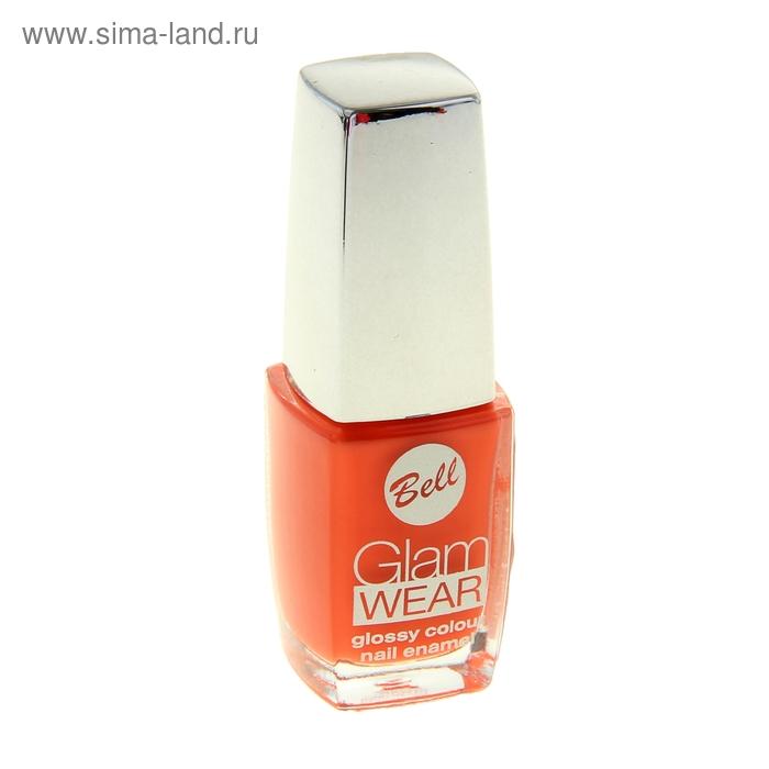 Лак для ногтей Bell устойчивый с глянцевым эффектом Glam Wear Тон 508  10 гр
