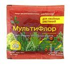 Сухое удобрение в хелатной форме МультиФлор универсальное для хвойных растений 50 г.