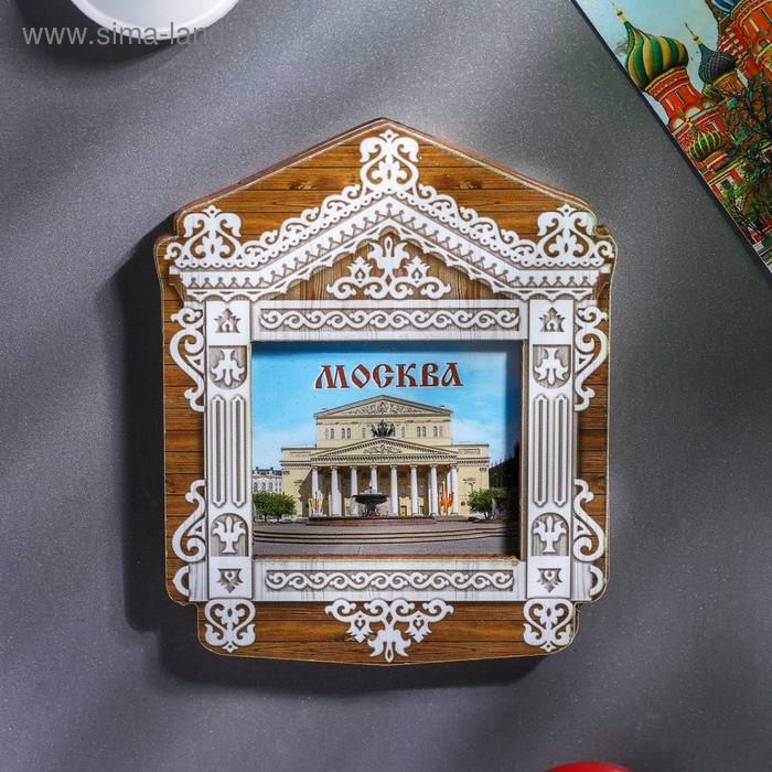 """Магнит в форме окна """"Москва"""""""