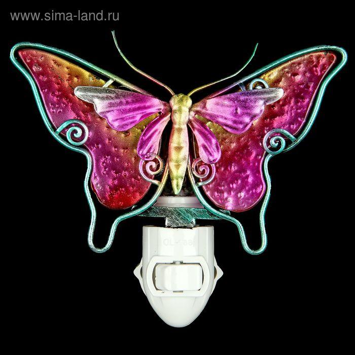 "Ночник ""Бабочка розовая"""