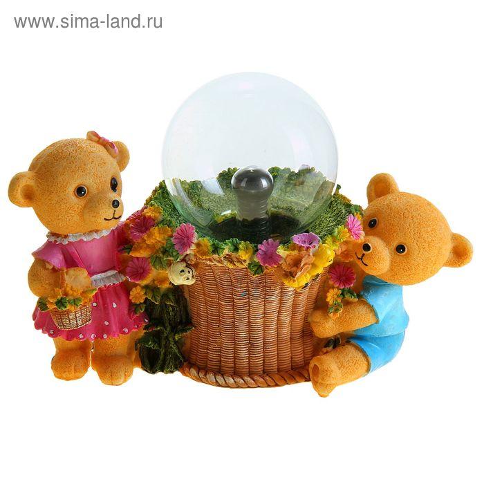 """Плазменный шар """"Медвежата"""""""