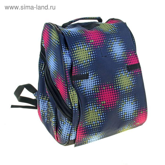 Рюкзак для переноски животных, 32х27х37, микс цветов