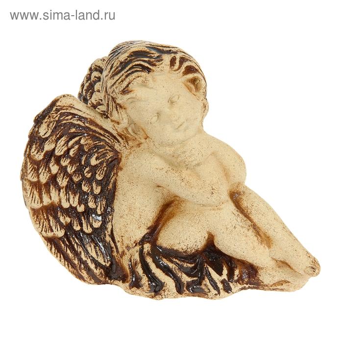 Статуэтка ''Ангелок-мальчик'' шамот