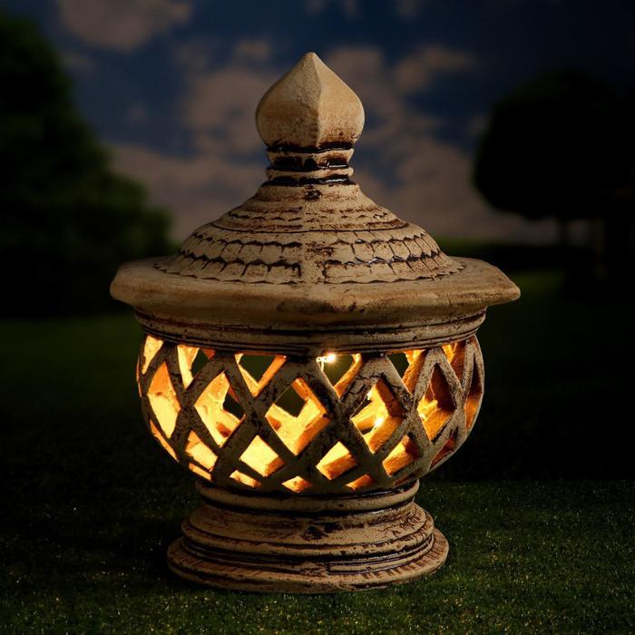 Садовый светильник ''Сиам'' шамот